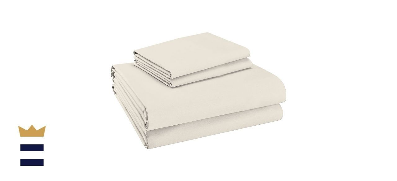 Purity Home Pure Organic Cotton Twin XL Bed Sheets