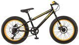 "Mongoose Massif Boys' 20"" Fat Tire Bike"