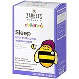 Zarabee's Naturals Children's Sleep with Melatonin Supplement