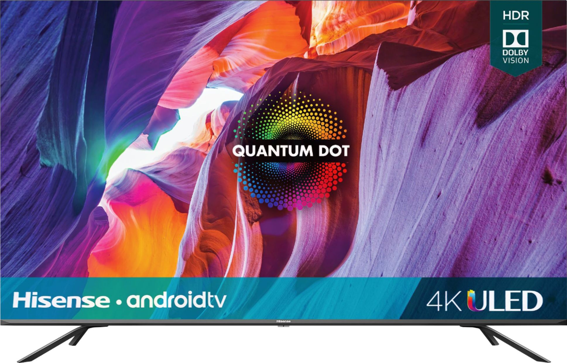 Hisense H8G Quantum Series 4K ULED Android Smart TV