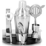 Bar Brat 7-Piece Set With Stainless Steel Stand