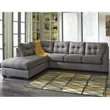 Flash Furniture Benchcraft Maier Charcoal Microfiber Sectional