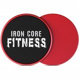 Iron Core Fitness 2 x Dual Sided Core Sliders