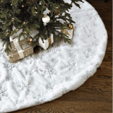 Lalent Faux Fur Christmas Tree Skirt