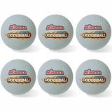 Mikasa Sports Official Rubber Dodgeball, Set of 6