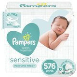 Pampers Sensitive Water Baby Wipes