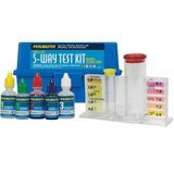 Poolmaster 5-Way Test Kit with Case – Basic Collection