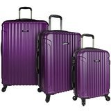 U.S. Traveler Akron Spinner Luggage Set