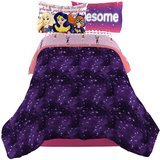 Warner Bros. DC Super Hero Girls Cosmic Girl Twin/Full Comforter